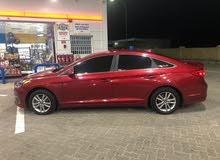 Maroon Hyundai Sonata 2015 for sale