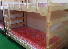 سرير طابقين ( تخت جودة عالية بأحسن الأسعار