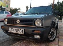 للبيع او للبدل  Golf MK2 1990
