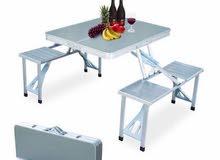 طاولة العجيبة على شكل شنطة