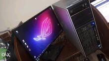 Hp Z400 Workstation +GTX 660 3G