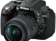 كاميرا نيكون D5300,WIFI,GPS من الامارات