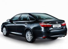 For rent 2018 Black Camry