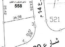 ارض جمبلة للبيع في ناعور قرب شارع السلام - 12 دقيقة عن الدوار السابع