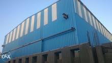 فرصه للمستثمرين مصنع للبيع مرخص ومسجل صناعي 1280م بأبورواش الصناعيه