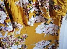 فستان قطن بارد طويل صيفي