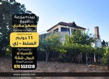 مزرعة مع بيت مستقل للبيع بسعر مغري جدا من المالك مباشرة بدون عمولة