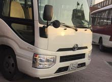Toyota Coaster car is available for a Month rent