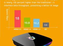 Q Plus Smart TV Box 6K Android 9.0 TV Box 4GB RAM 32GB