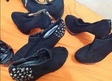 للبيع احذية جديدة ومستعملة