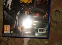 PS4 inFamous second son for sale