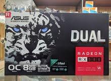 AMD RX580 8GB OC Edition Asus Dual