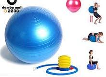 الكرة المطاطية السويسرية (Yoga Ball )