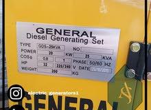 مولد كهرباء 25 كيلو جديد