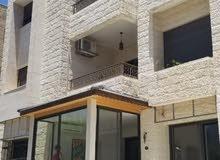 شقة ارضية مميزة للبيع 3 نوم في الدوار الرابع