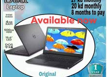 Dell Laptop  for installment 17kd down-payment
