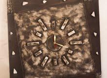 ساعات حائط فنية يدوية