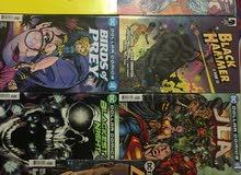 Comic books  الواحد دينار ونص