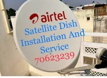 Satellite Dish Receiver Sale Install And Shifting