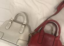 two mini bags used