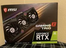 GeForce RTX 3090 MSI GAMING X TRIO 24GB GDDR6X Graphics Card Fan