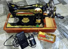 مكينة خياطة (بو فراشة) للبيع