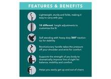 Healthy Posture Cane - العكاز الصحي