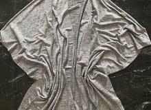 KOTON PARTYWEAR M kimono grey silver beautiful