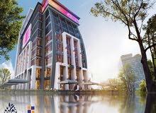 محل للبيع 50م ب اول تكنولوجي مول Smart mall في العاصمة الادارية الجديدة