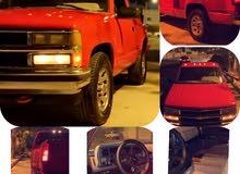 للبيع سلفرادو موديل 1988 مخصر