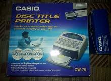 طباعة على CD كاسيو