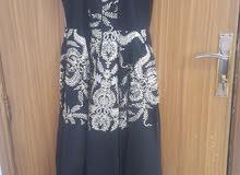 فستان سواريه اسود