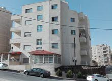 شقة للبيع في _ منطقة طبربور _ طابق ثالث مساحة 125 متر + روف 25 متر