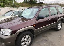 Automatic Maroon Mazda 2005 for sale