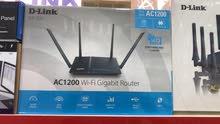 D-Link AC 1200 Wi-Fi Gigabit Router