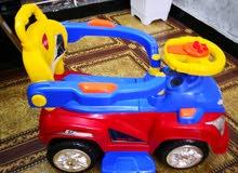 سيارة طفل نظافة 100%
