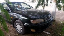 Manual Black Nissan 1998 for sale
