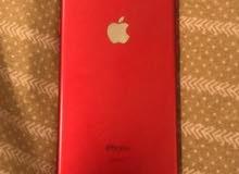 ايفون 7 احمر 128 قيقا .. خربان زر الشاشة فقط