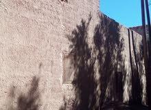 دار من طين في منطقة طبيعية. كلميمة. المغرب