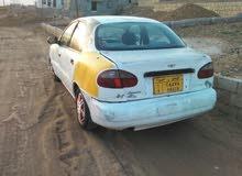 سياره دايو لانوس 2001 اجره فاصل واحد مجمركه ومرقمه اجره السياره مكينتها نظيفه