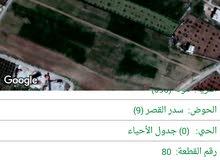 ارض زراعي مساحتها 8450متر