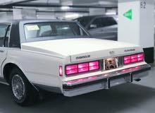 White Chevrolet Caprice 1987 for sale