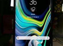 جهاز نوت 9 للبيع لون بنفسجي اخو الجديد 500 دينار