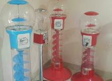 مكن بيع لبان وكور (ماكينة البيع الذاتي بالعملة ماكينات اللبان