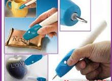 قلم الحفر على المعدن و الزجاج والخشب والبلاستك