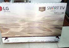 شاشة LG SMART 49 2018 بسعر مغري