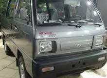 يوجد سيارة سوزوكي فان7راكب بالسواق للعمل في الشركات أو مصانع أو دورات نقل موظفين