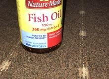 كولاجين وزيت السمك الأمريكي الأصلي omega 3
