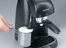 ماكينة الكابتشينو والاسبرسو والقهوة الأمريكية