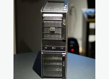 وركستيشن للرندر والجرافيكHP Z600 XEON X5650 رمات//24 هارد//500